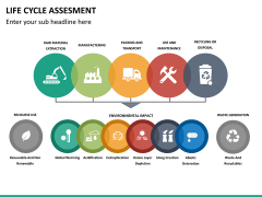 Life cycle assessment PPT slide 13