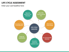 Life cycle assessment PPT slide 20
