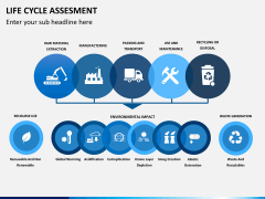 Life cycle assessment PPT slide 2
