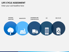 Life cycle assessment PPT slide 4