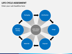Life cycle assessment PPT slide 8