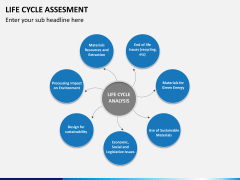 Life cycle assessment PPT slide 9