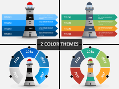 Light house PPT cover slide