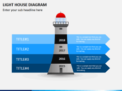 Light house PPT slide 1