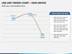 Line and trends chart PPT slide 3