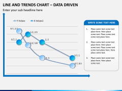 Line and trends chart PPT slide 5