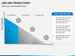 Line and trends chart PPT slide 8