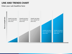 Line and trends chart PPT slide 9