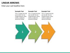Linear arrows PPT slide 12