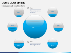 Liquid glass sphere PPT slide 10