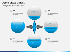 Liquid glass sphere PPT slide 5