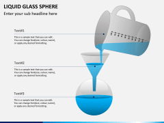 Liquid glass sphere PPT slide 6