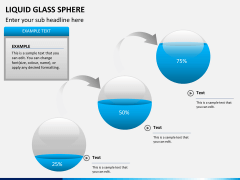 Liquid glass sphere PPT slide 8