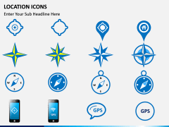 Location icons PPT slide 3