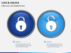 Lock and unlock PPT slide 4