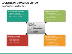 Logistics Information PPT slide 26