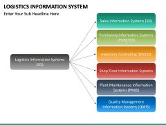 Logistics Information PPT slide 15
