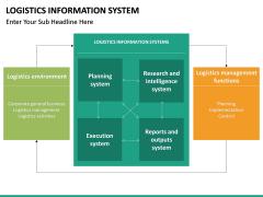 Logistics Information PPT slide 21