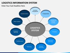Logistics Information PPT slide 1