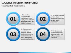 Logistics Information PPT slide 10