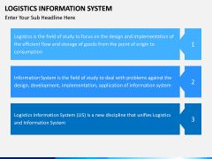 Logistics Information PPT slide 12