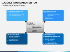 Logistics Information PPT slide 13