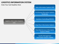 Logistics Information PPT slide 2
