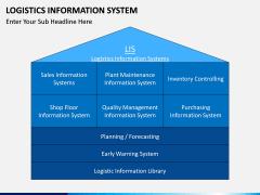 Logistics Information PPT slide 3