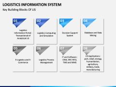 Logistics Information PPT slide 7