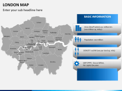 London map PPT slide 13