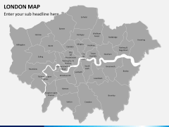 London map PPT slide 2