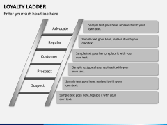 Loyalty ladder PPT slide 5