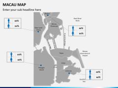 Macau map PPT slide 13