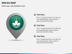 Macau map PPT slide 15