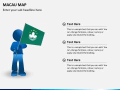 Macau map PPT slide 16