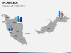 Malaysia map PPT slide 17