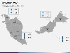 Malaysia map PPT slide 19