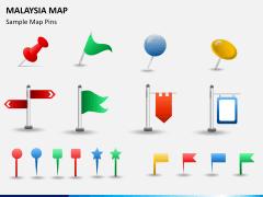 Malaysia map PPT slide 26