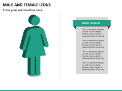 Male Female Icons PPT Slide 11