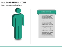 Male Female Icons PPT Slide 12