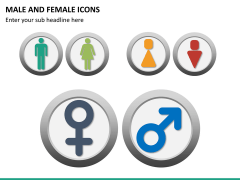 Male Female Icons PPT Slide 16