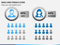 Male Female Icons PPT Slide 1