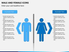 Male Female Icons PPT Slide 2