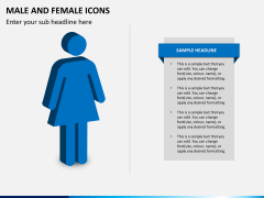 Male Female Icons PPT Slide 3
