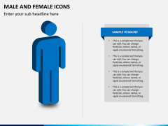 Male Female Icons PPT Slide 4