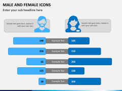 Male Female Icons PPT Slide 6