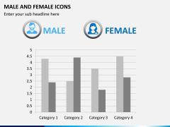 Male Female Icons PPT Slide 7