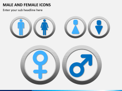 Male Female Icons PPT Slide 8