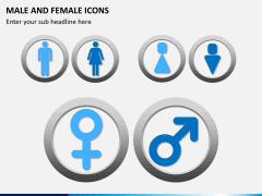 Male Female Icons PPT Slide 8