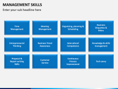 Management skills PPT slide 12